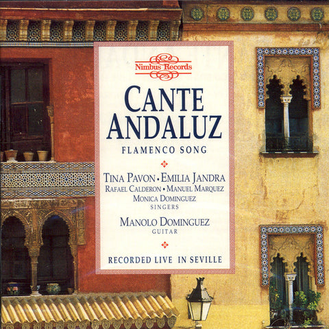 Image of Various Artists, Cante Andaluz, CD