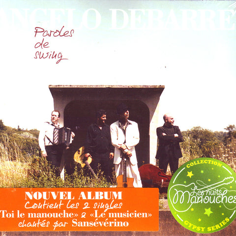 Image of Angelo DeBarre & Ludovic Beier, Paroles de Swing, CD