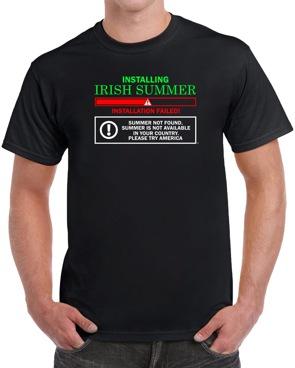Installing Irish Summer, Installation Failed