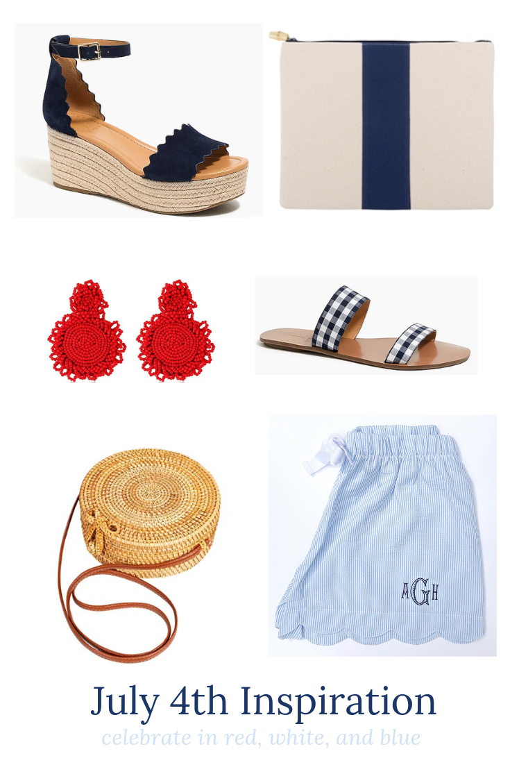 4th of July preppy picks and inspiration