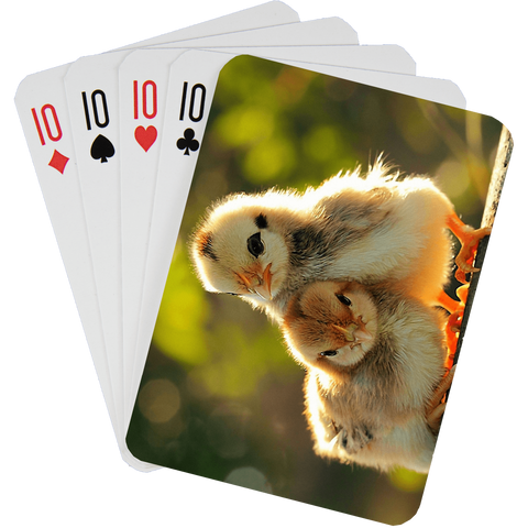 Stock Playing Card Deck - Cute4 - PlayingCardsNow.com