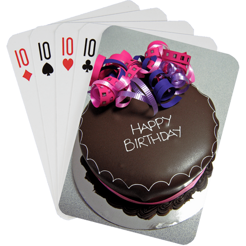 Stock Playing Card Deck - Birthday1 - PlayingCardsNow.com
