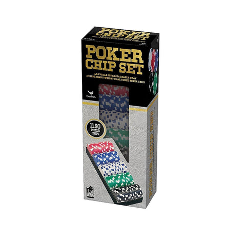 Championship Poker Chips - Pack of 100 - PlayingCardsNow.com