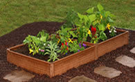 8inch Double Raised Garden Bed
