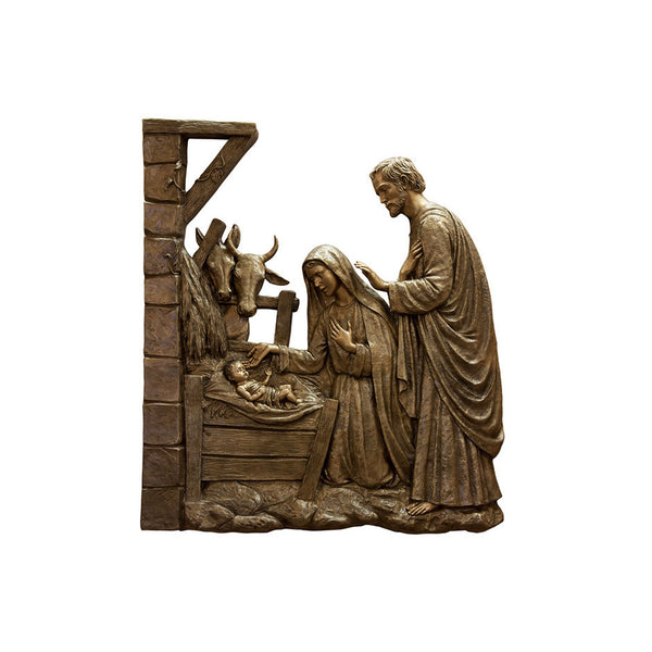 Life of Christ Relief - Birth of Jesus - Global Bronze