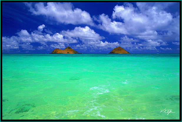 Emerald Waters Lanikai Beach Oahu - Hawaiipictures.com