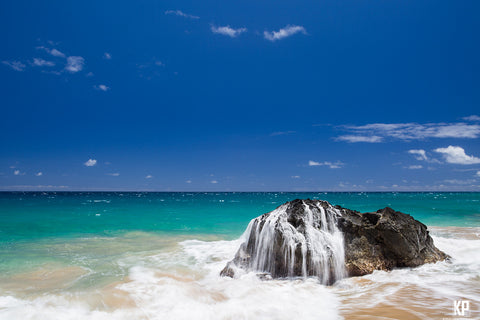 Kauai Beach Splash-Hawaiipictures.com