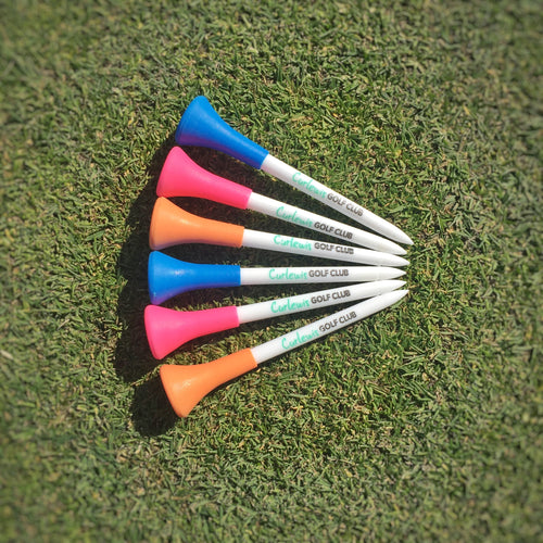 Curlewis Golf Club Logo Cushion Tee set of Ten