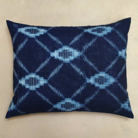 Japanese Ikat cushion