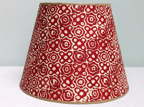Mini-stella purple-red mix lampshade