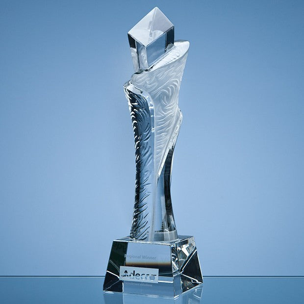 Optical Crystal Breaker Award - Bracknell Engraving & Trophy Services
