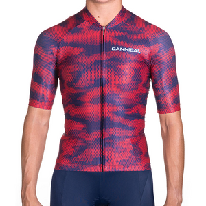 WOMENS CAMO RED/NAVY AERO JERSEY