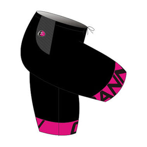 CANN Ultra Fatigue Shorts Women's Black/Fluoro Pink