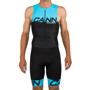CANN ULTRA TRI SUIT FLUORO BLUE