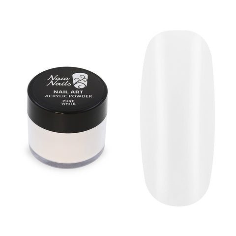 Pure Colours White Acrylic Powder 12g