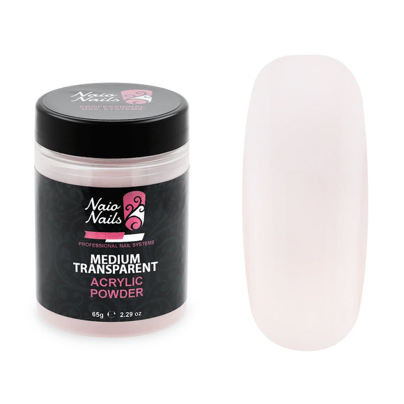 Medium Transparent Pink Acrylic Powder 195g