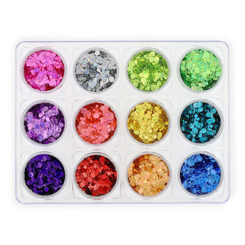 Glitter Set - NGS-007 - Mixed Size Glitter Dots