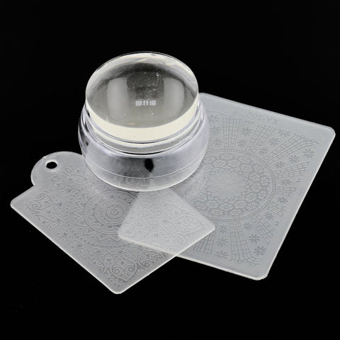 Silicone Jelly Head Stamper - Clear