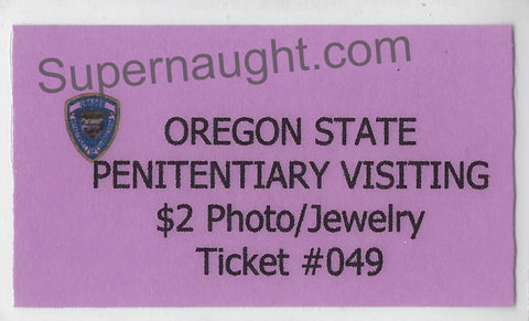 Keith Jesperson Photo Ticket