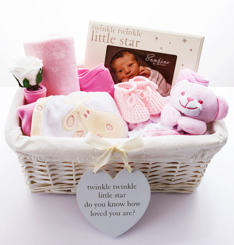 New Baby Girl Hamper
