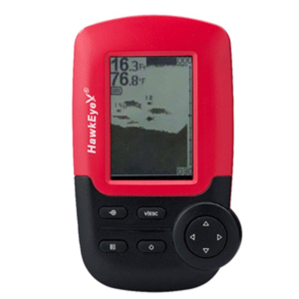 HawkEye FishTrax™ 1X Kayak Dot Matrix Portable Fish Finder