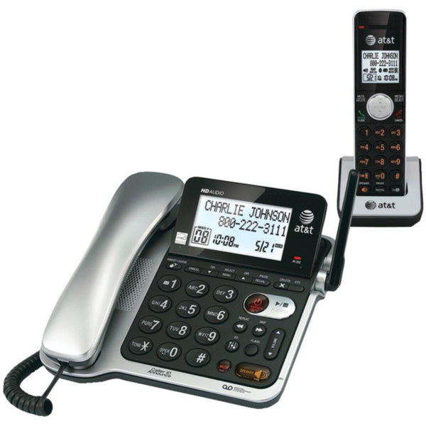 2017 New Arrival ATT CL84102 Corded-Cordless Phone System with Answer, Caller ID-Call Waiting Hot Sale