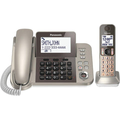PANASONIC KX-TGF350N DECT 6.0 Corded-Cordless Phone System with Caller ID & Answering System (1 Handset)