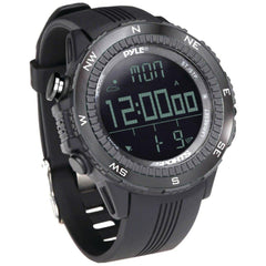 PYLE PSWWM82BK Digital Multifunction Active Sports Watch (Black)