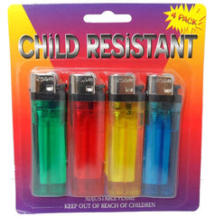 Disposable Lighters: 5-Pack :  ( Pack of  2 Sets )
