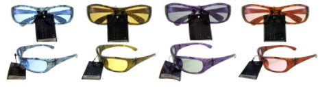 Assorted Small Framed Oval Lens Sunglasses Case Pack 36