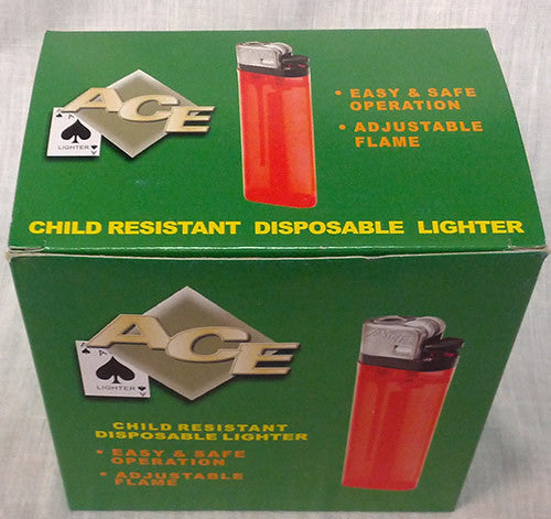 Disposable Lighter - Child Resistant Case Pack 400