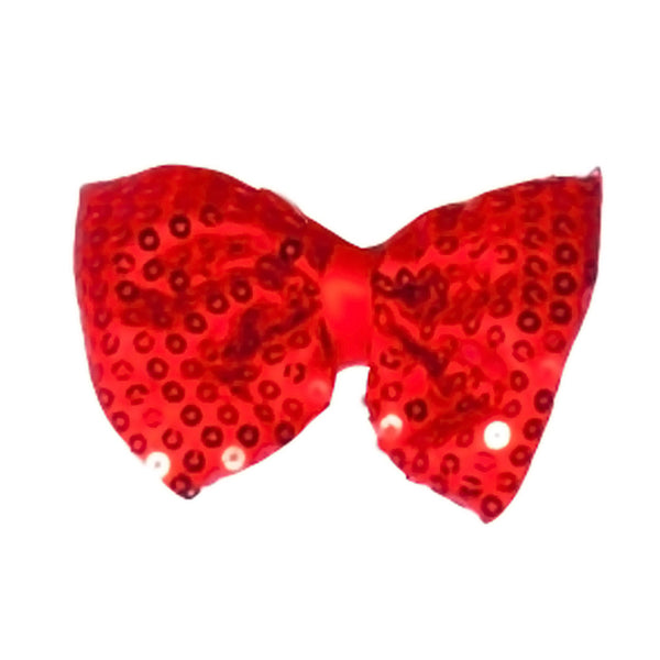 New Arrival Dress Up America Halloween Costume Red Sequined Bow Tie
