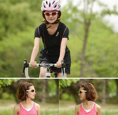 Topeak Women Mountaineering Glasses Goggles Tr90 Frame Pc Lens Cycling Eyewear 4 Lens Uv Coating Sun Glasses Gafas Ciclismo 28g