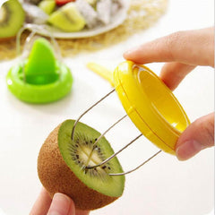 2016 new hole product Mini Fruit Cutter Peeler Slicer Kitchen Gadgets Tools For Pitaya Green Kiwi New