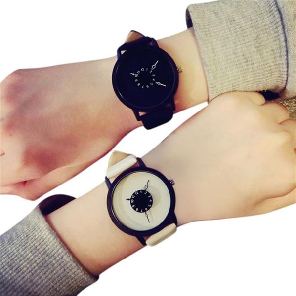 High Quality Women men Watches Casual Brand Soft Silicone Strap Jelly Quartz Watch Wristwatches for Ladies Lovers Black White