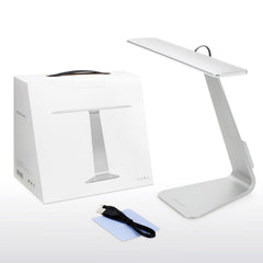 Super Thin USB Rechargable LED Charging  Desk Lamp 5V Adjustable Eye Protection Reading Light Touch Control Folding Table Lamp