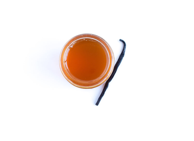A picture of Ivy's Tea Co.'s Crime, a vanilla infused honey
