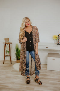 Dixie Duster *Leopard* Duster ~ Crazy Train