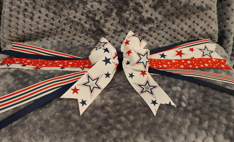 Pony Bow - Fourth of July