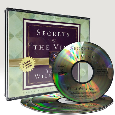 Secrets of the Vine Audio CD Series