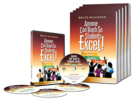 """Anyone Can Teach So Students Excel! Anyone, Anywhere, Anytime"" Leader's Kit"