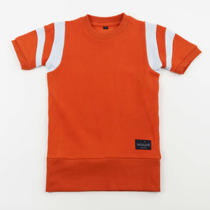 BASKETBALL DRESS - TANGERINE