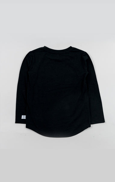 Long Slv Tee - Black