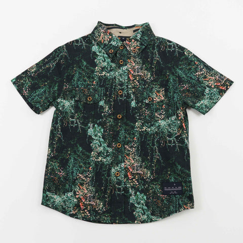 BUTTON DOWN - JANGAL FOREST