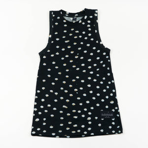 Tank Dress - Bunny Black