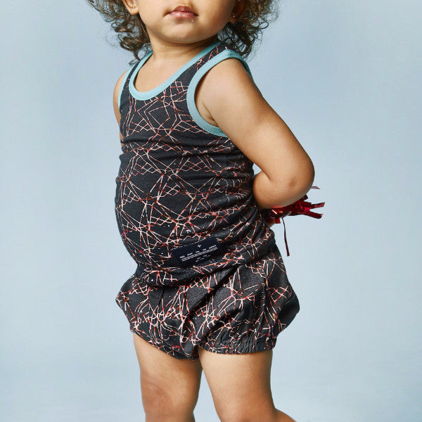 BABY BLOOMER - TAJ CHARCOAL