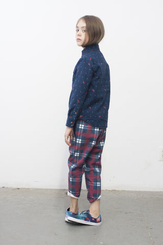 Chino pant - Lobster Flannel