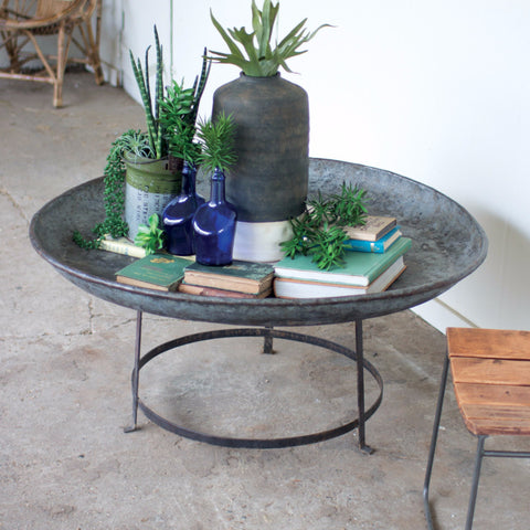 The Remi Round Bowl Table
