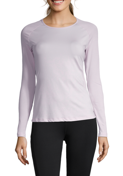 Casall Iconic Long Sleeve - Lavender Spa