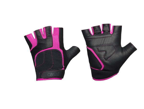 Casall Exercise Glove - Black / Pink